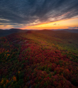 Maine Mountain Sunset