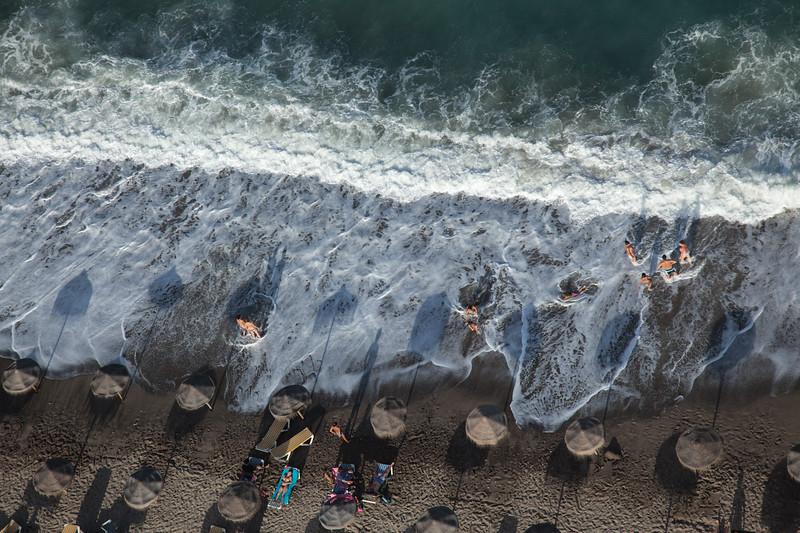 Beach Life in Mojacar Almeria Spain