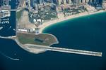 SkyDive Dubai and Dubai Marina