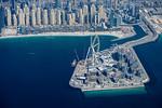 Dubai Eye and Dubai Marina