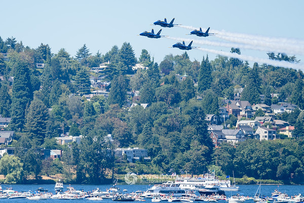 Blue Angels - Seafair 2015