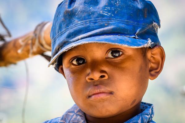 Young Malagasy boy