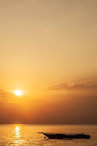 Sunset at Zanzibar