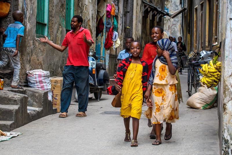 Zanzibar street life