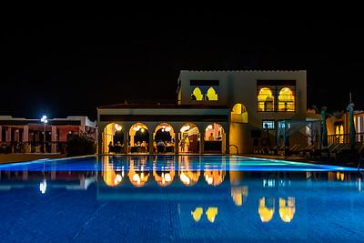 Pool reflections, Nungwi Resort, Zanibar