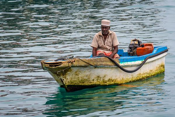 Fisherman, Zanzibar