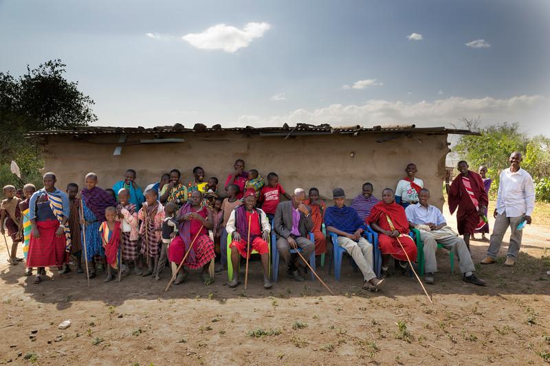 Massai Family Portrait