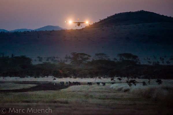 Lewa air strip, Kenya Africa