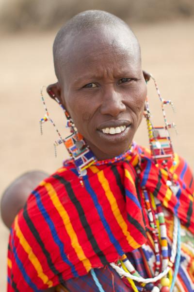 Maasai woman.