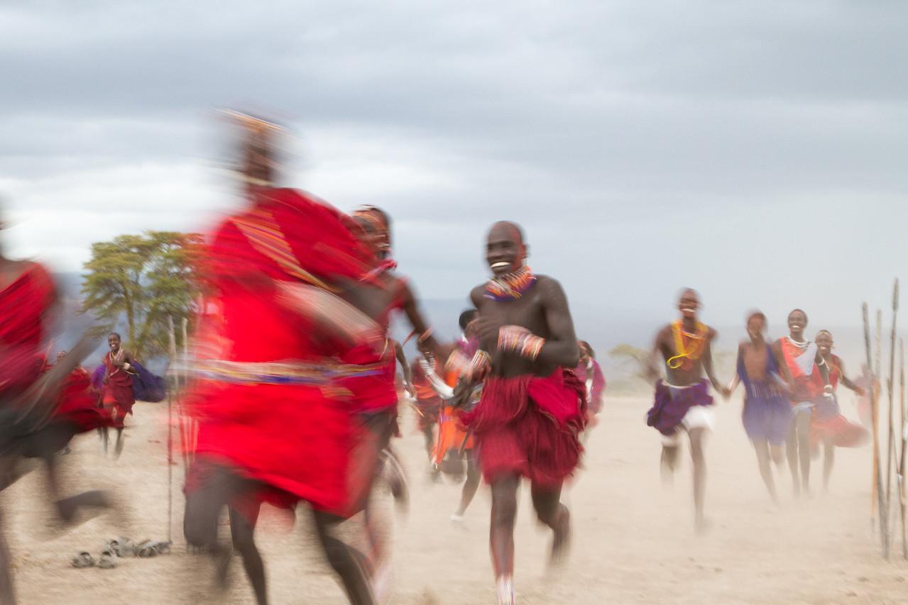 Maasai dash!