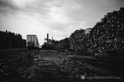 Pulpwood Logging Ladysmith Wisconsin