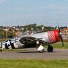 Republic P-47D Thunderbolt (G-THUN) © 2018 Olivier Caenen, tous droits reserves