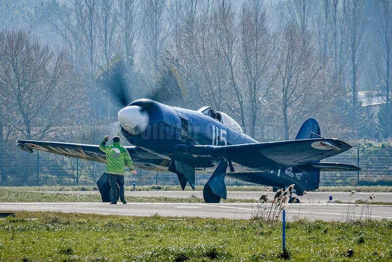 Hawker Sea Fury F-AZXJ © 2016 Olivier Caenen, tous droits reserves