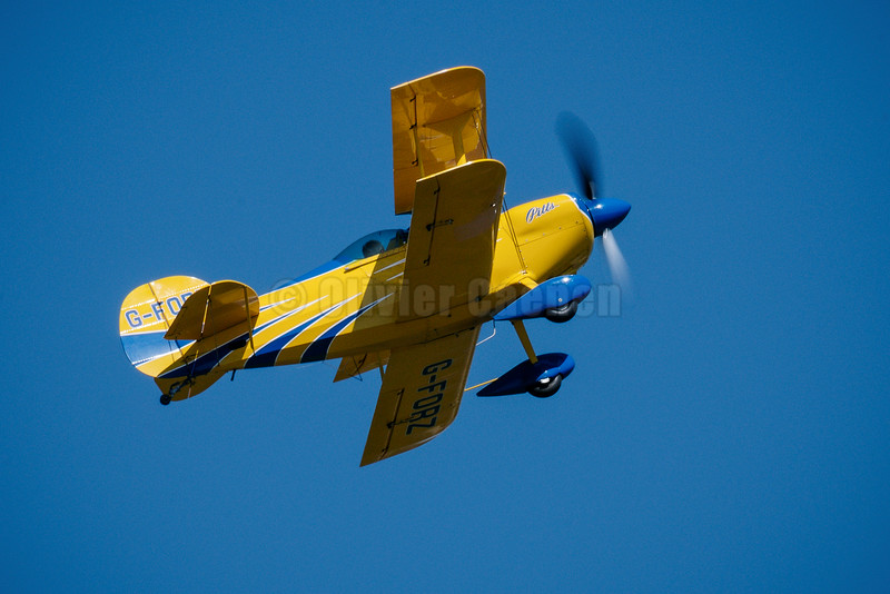 Pitts S1S aerobatic biplane G-FORZ