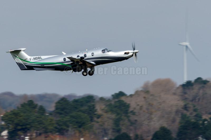 Pilatus PC-12/47E  F-HDBL© 2018 Olivier Caenen, tous droits reserves