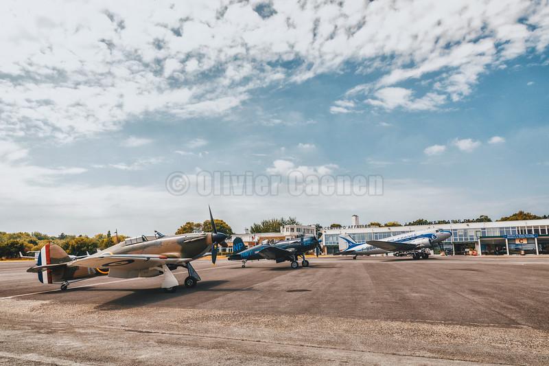 Hurricane Mk II P3351 F-AZXR © 2018 Olivier Caenen, tous droits reserves