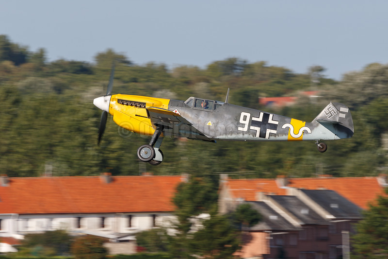 "Hispano HA-1112-M4L Buchon ""White 9? (G-AWHH)  © 2018 Olivier Caenen, tous droits reserves"