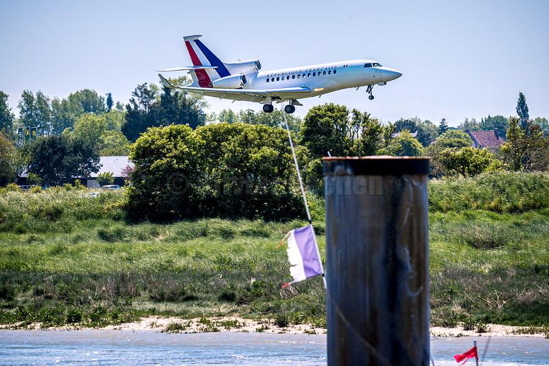 Visite du Président E.Macron à Valéo Etaples sur Mer © 2020 Olivier Caenen, tous droits reserves