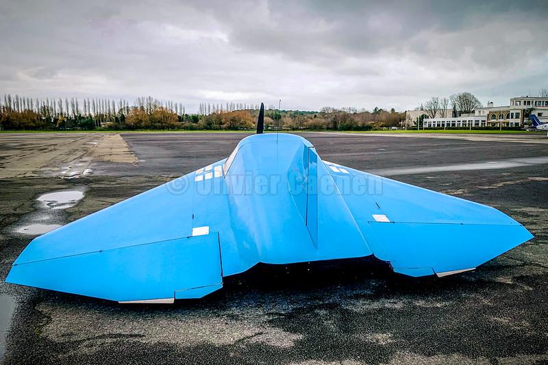 Verhees Delta D-2 F-PDHZ Homebuilt Flying Wing (UFO)© 2019 Olivier Caenen, tous droits reserves