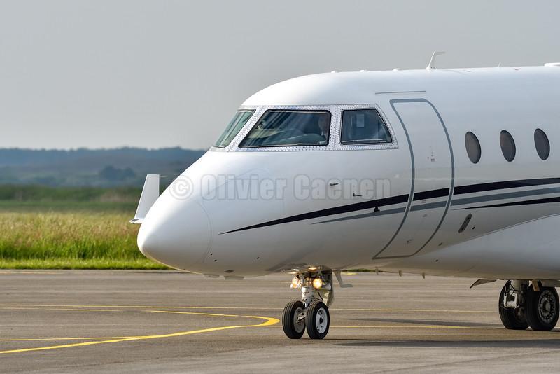 Gulfstream G200 (IAI-1126 Galaxy) - G-GZOO © 2016 Olivier Caenen, tous droits reserves