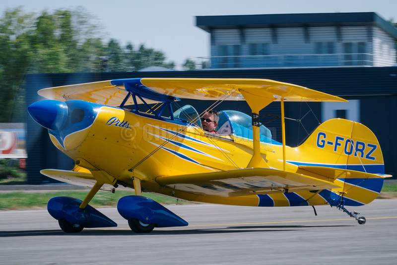 Pitts S1S aerobatic biplane G-FORZ