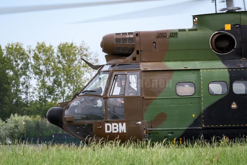 SA330 Puma, ArmŽe de Terre Belge © 2016 Olivier Caenen, tous droits reserves