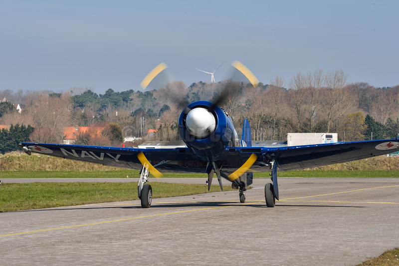 Hawker Sea Fury F-AZXJ © 2016 Olivier Caenen, tous droits reserves