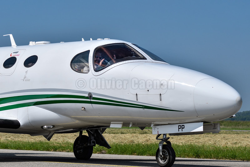 Cessna 510 Citation Mustang - OE-FPP © 2016 Olivier Caenen, tous droits reserves