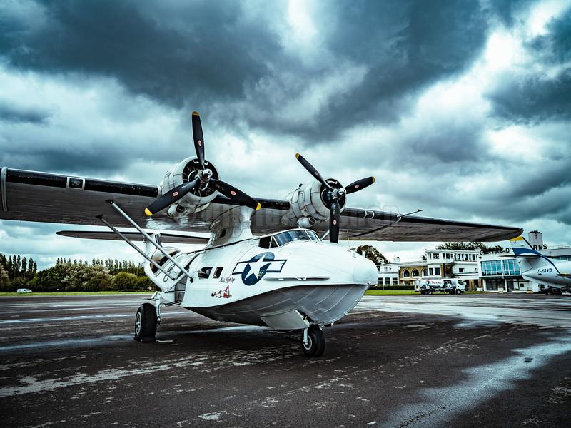 "G-PBYA Catalina ""Miss Pick Up""© 2020 Olivier Caenen, tous droits reserves"