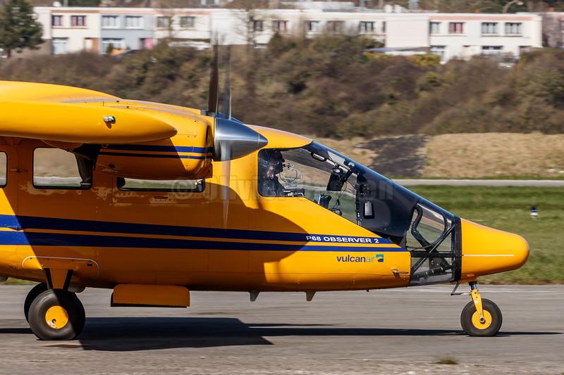 Partenavia Vulcanair P.68 Observer 2 EC-JNH © 2018 Olivier Caenen, tous droits reserves