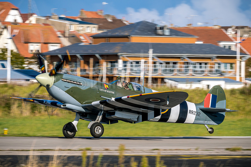 Spitfire RR232 - CITY OF EXETER (G-BRSF) © 2019 Olivier Caenen, tous droits reserves