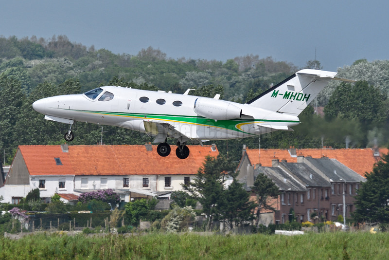 Cessna 510 Citation Mustang - M-MHDH © 2016 Olivier Caenen, tous droits reserves
