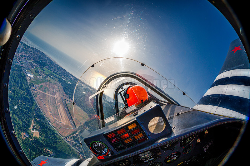 Yak 52 00-CCP First Photo Flight © Olivier Caenen, tous droits reserves