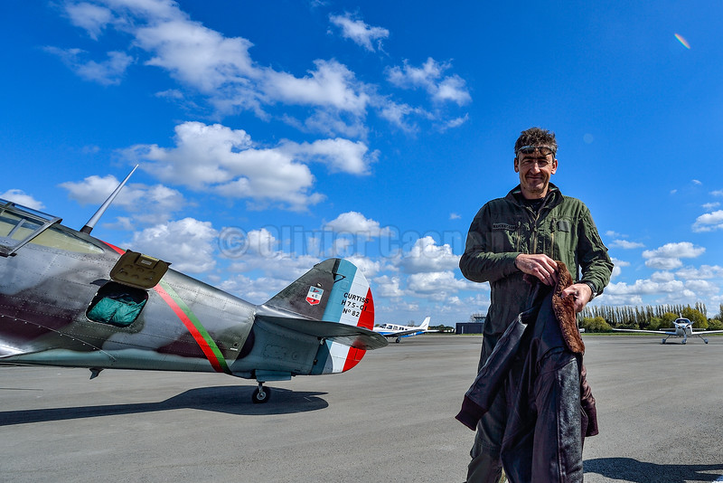 Curtiss Hawk 75A-1 © Olivier Caenen 2016, tous droits reserves