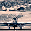 Hurricane and Spitfire @ Le Touquet Airport