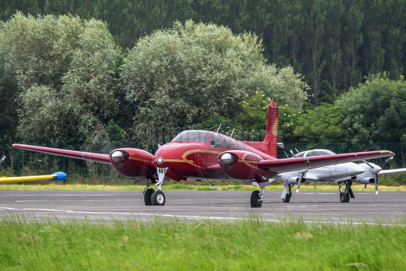 Beechcraft Bonanza twin BE 50 N3682B © 2016 Olivier Caenen, tous droits reserves