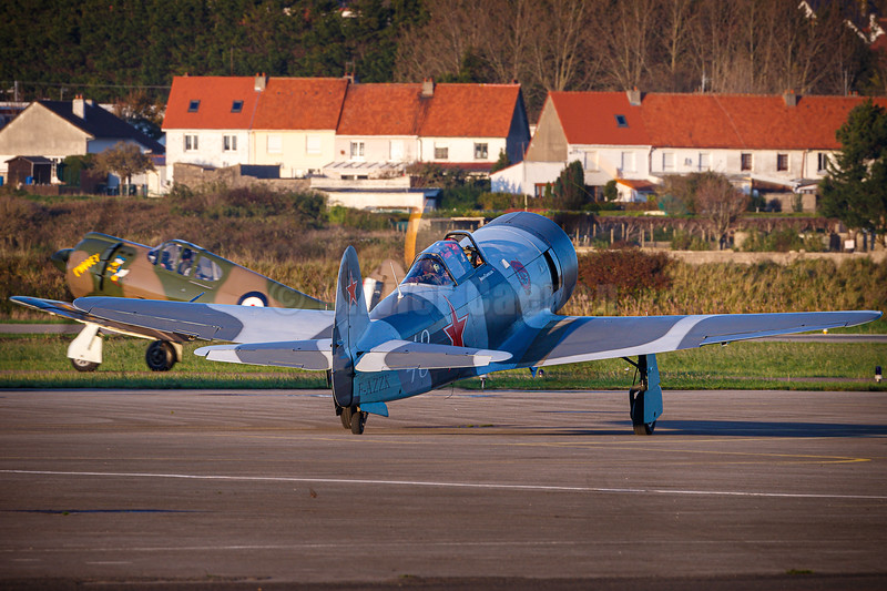 Commonwealth Aircraft Corporation CA-13 Boomerang - A46-139/N32CS  and Yakovlev Yak-3 U-PW - 003/F-AZZK © 2019 Olivier Caenen, tous droits reserves