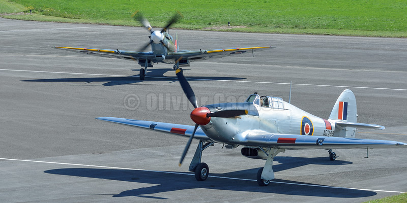 Hawker Hurricane Mk IIB G-CBOE AG244