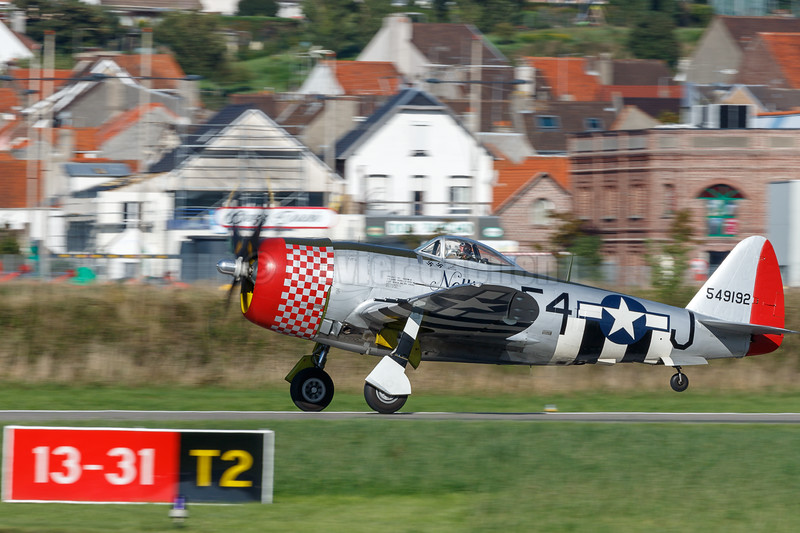 Republic P-47D Thunderbolt (G-THUN) © 2018 Olivier Caenen, tous droits reserves