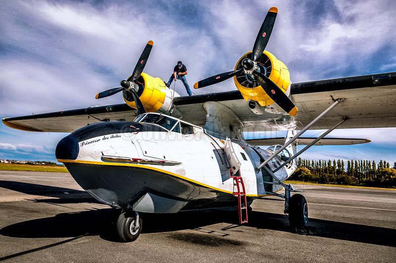 Consolidated PBY-5A Catalina La Princesse des Etoiles © 2019 Olivier Caenen, tous droits reserves