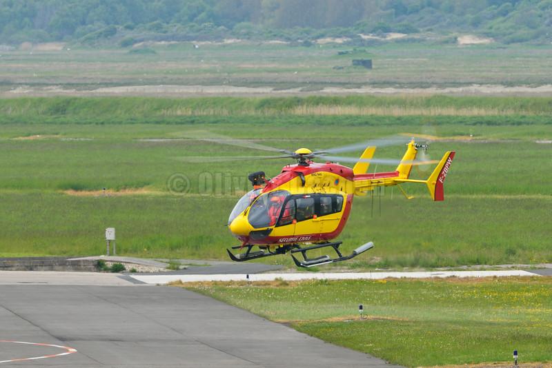 Dragon 62 EC 145 Sécurité civile Le Touquet