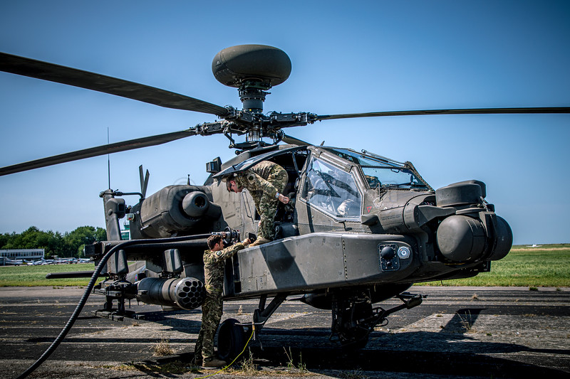 Boeing AH64 Apache British Army  © 2019 Olivier Caenen, tous droits reserves