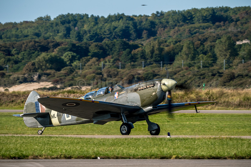 SPITFIRE ML407 NLD GALLAGHER © 2019 Olivier Caenen, tous droits reserves