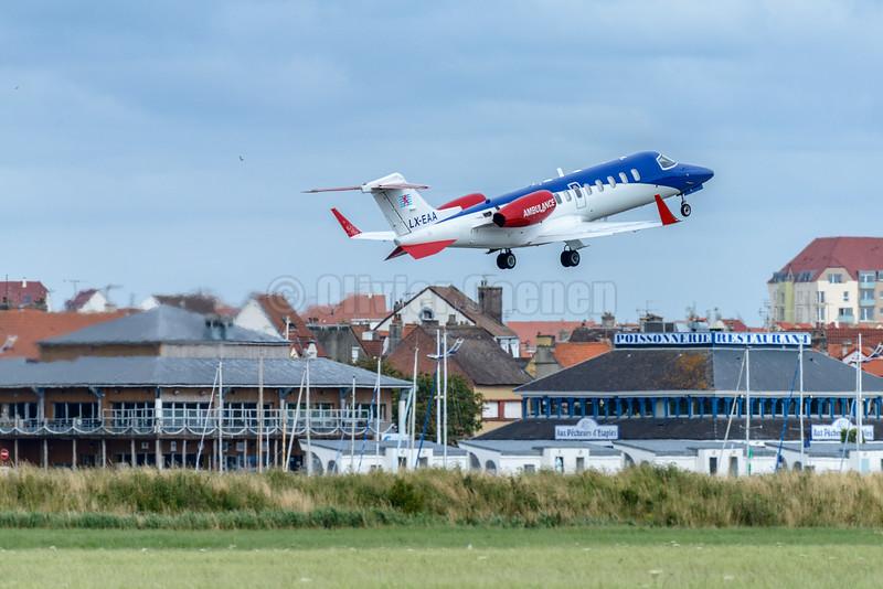 Learjet 45XR LX-EAA