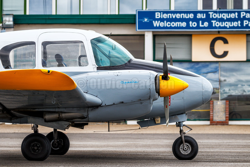 Piper PA-23-160 Apache N3436P © 2018 Olivier Caenen, tous droits reserves