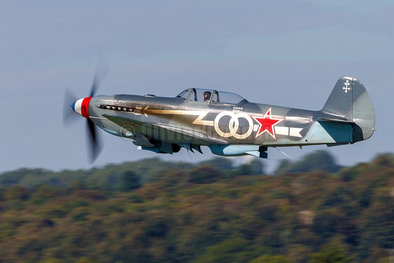 Airworthy-Yakovlev-Yak-3-Warbird-D-FLAK © 2018 Olivier Caenen, tous droits reserves