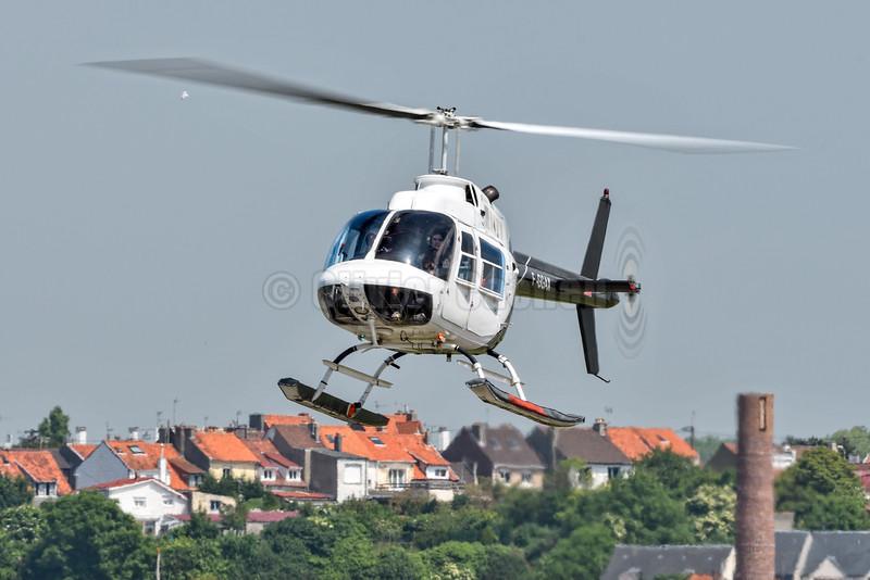 Bell 206B JetRanger II - F-GGAX © 2016 Olivier Caenen, tous droits reserves