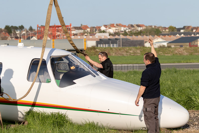 Crash Cessna Citation © 2018 Olivier Caenen, tous droits reserves