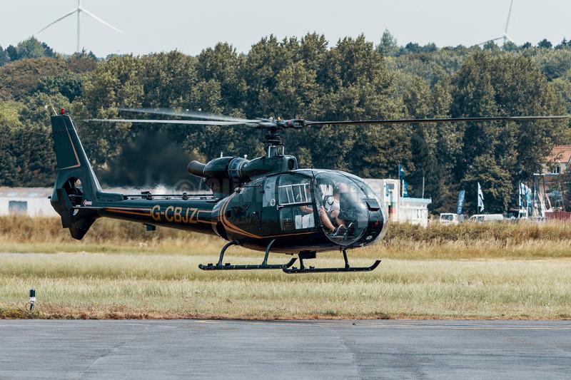 Westland SA-341 Gazelle AH1  G-CBJZ © 2018 Olivier Caenen, tous droits reserves