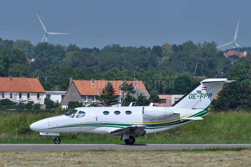 Cessna 510 Citation Mustang - OE-FPP © 2016 Olivier Caenen, tous droits reserves